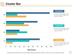 Cluster Bar Investment Ppt PowerPoint Presentation Portfolio Elements