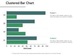 Clustered Bar Chart Analysis Ppt PowerPoint Presentation Icon Format
