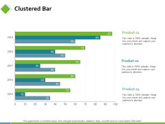 Clustered Bar Investment Planning Ppt PowerPoint Presentation Infographic Template Deck