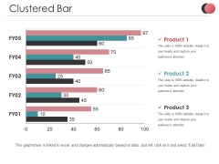 Clustered Bar Ppt PowerPoint Presentation Styles Elements