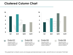 Clustered Column Chart Investment Ppt PowerPoint Presentation Infographic Template Clipart
