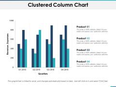 Clustered Column Chart Planning Ppt PowerPoint Presentation Portfolio Information