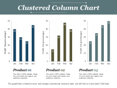 Clustered Column Chart Ppt PowerPoint Presentation Model Deck