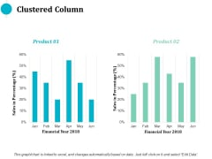 Clustered Column Finance Ppt PowerPoint Presentation Icon Show