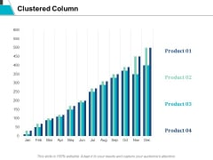 Clustered Column Finance Ppt Powerpoint Presentation Model Objects