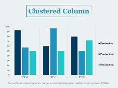 Clustered Column Financial Ppt PowerPoint Presentation Summary Information