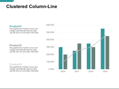 Clustered Column Line Analysis Ppt PowerPoint Presentation Inspiration Vector