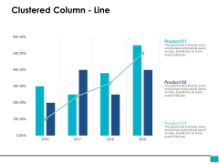 Clustered Column Line Analysis Ppt PowerPoint Presentation Pictures Layout Ideas