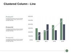 Clustered Column Line Analysis Ppt PowerPoint Presentation Portfolio Objects