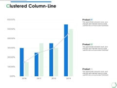 Clustered Column Line Analysis Ppt PowerPoint Presentation Summary Guide