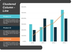 Clustered Column Line Finance Marketing Ppt Powerpoint Presentation Ideas Infographic Template
