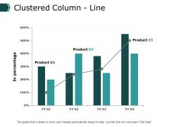 Clustered Column Line Graph Ppt PowerPoint Presentation Ideas Demonstration