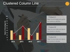 Clustered Column Line Ppt PowerPoint Presentation Examples