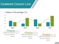Clustered Column Line Ppt Powerpoint Presentation Gallery Mockup
