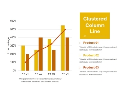 Clustered Column Line Ppt PowerPoint Presentation Icon Ideas