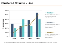 Clustered Column Line Ppt PowerPoint Presentation Inspiration Layouts
