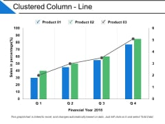 Clustered Column Line Ppt PowerPoint Presentation Layout