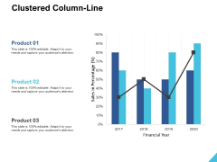 Clustered Column Line Ppt PowerPoint Presentation Layouts Microsoft