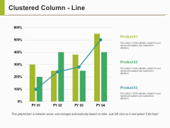 Clustered Column Line Ppt PowerPoint Presentation Model Aids