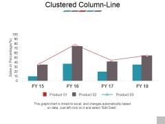 Clustered Column Line Ppt PowerPoint Presentation Model Images
