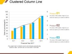 Clustered Column Line Ppt PowerPoint Presentation Portfolio Outline