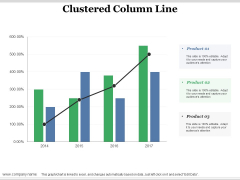 Clustered Column Line Ppt PowerPoint Presentation Professional