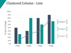 Clustered Column Line Ppt PowerPoint Presentation Samples