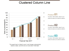 Clustered Column Line Ppt PowerPoint Presentation Show Influencers