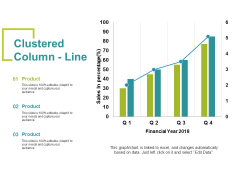 Clustered Column Line Ppt PowerPoint Presentation Summary Example Topics