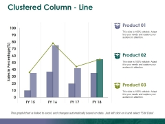 Clustered Column Line Ppt PowerPoint Presentation Summary Slide