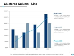 Clustered Column Line Product Finance Ppt PowerPoint Presentation Icon Infographics