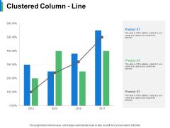 Clustered Column Line Product Ppt PowerPoint Presentation Slides Vector