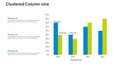 Clustered Column Line Slides PDF