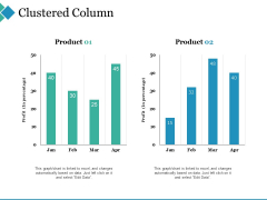 Clustered Column Ppt PowerPoint Presentation Gallery Microsoft