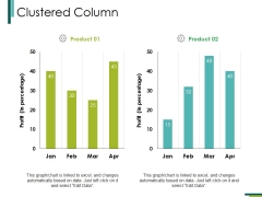 Clustered Column Ppt PowerPoint Presentation Icon Demonstration