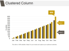 Clustered Column Ppt PowerPoint Presentation Images
