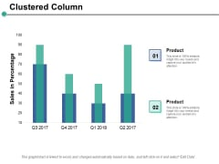 Clustered Column Ppt PowerPoint Presentation Infographics Picture
