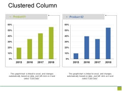 Clustered Column Ppt PowerPoint Presentation Infographics Professional