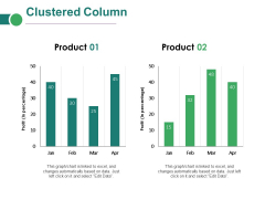 Clustered Column Ppt PowerPoint Presentation Inspiration Introduction