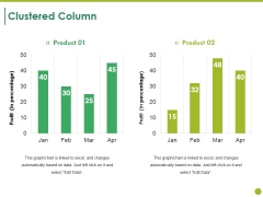Clustered Column Ppt PowerPoint Presentation Layouts Ideas