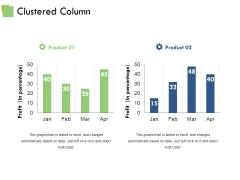 Clustered Column Ppt PowerPoint Presentation Portfolio Good
