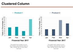 Clustered Column Ppt PowerPoint Presentation Portfolio Smartart