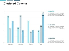 Clustered Column Ppt PowerPoint Presentation Professional Aids