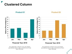 Clustered Column Ppt PowerPoint Presentation Professional Slides