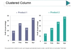 Clustered Column Ppt PowerPoint Presentation Professional Styles