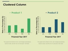 Clustered Column Ppt PowerPoint Presentation Show Graphics