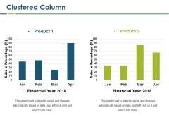 Clustered Column Ppt PowerPoint Presentation Slides Microsoft