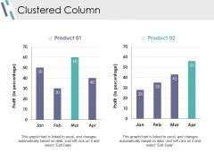 Clustered Column Ppt PowerPoint Presentation Slides Visuals