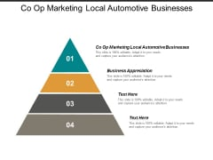 Co Op Marketing Local Automotive Businesses Business Appreciation Ppt PowerPoint Presentation Icon Templates