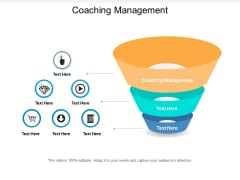 Coaching Management Ppt PowerPoint Presentation File Background Images Cpb